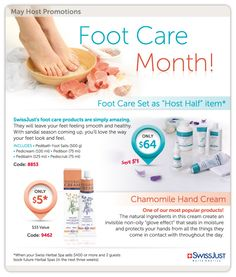 May is foot care month!!! Perfect time to get those feet ready for flip flops!!  www.herbalspamama.com