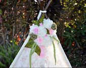 TEEPEE TOPPER -- teepee tent garland floral banner