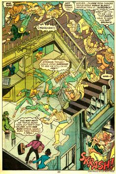 Page from Iron Fist # 10 - Chris Claremont & John Byrne Iron Fist Comic, Iron Fist Marvel, Marvel Comics, Marvel Art, Luke Cage, Comic Books Art, Comic Art, Book Art, Geof Darrow