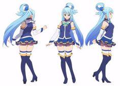 Aqua #KonoSubarashiiSekainiShukufukuwo #cosplay #coser #anime