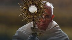 Papież przewodniczył uroczystościom Bożego Ciała #religia