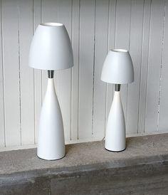 Tischlampe LED in weiß Anemon Hergestellt in Schweden von Belid - hier im #KONTOR1710