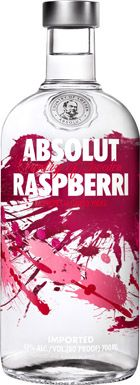 Absolut Raspberri Vodka 700mL $47