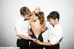 Tyler Shields Photography - Revenge ABC - Gabriel Mann, Christa B. Allen, Connor Paolo