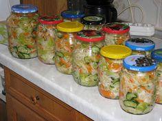Gyomro-sokk: Egy csalamádé színorgiája Mason Jars, Hungarian Recipes, Mason Jar, Glass Jars, Jars