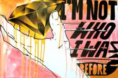 "Saatchi Art Artist Pasta Oner; Painting, ""Im Not Who I Was V."" #art"