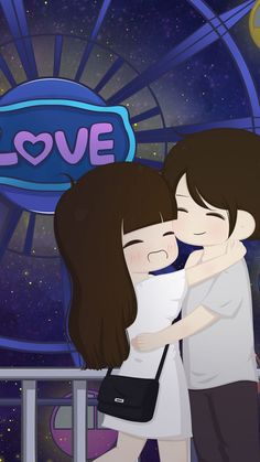 Gud morning 😚 janu 😚 have a good day 🎉 love u too 💜me aj nai gaya ❤️💏 Cartoon Love Photo, Love Cartoon Couple, Chibi Couple, Cute Couple Art, Cute Cartoon Girl, Anime Love Couple, Couple Pics, Love Couple Wallpaper, Cute Girl Wallpaper