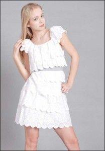 white graduation dresses