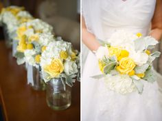 Love the pale cream and grey with yellow! | L Hewitt