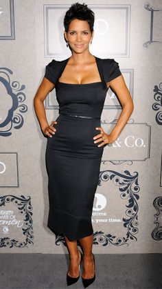 Halle Berry's Best Red Carpet Looks Ever - In Roland Mouret, 2012 from #InStyle