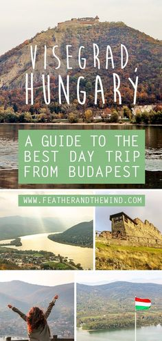 The Best Budapest Day Trip: A guide to Visegrad, Hungary.  Less than an hour from Budapest and easily accessible by train, the castle town of Visegrad, Hungary quickly became our favourite day trip from Budapest. With hiking trails, castle ruins, gorgeous views of the Danube river and even a fun luge run to boot!