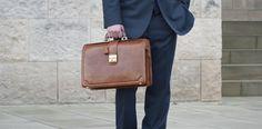 Basilio | Hochwertige Herren Leder Aktentasche