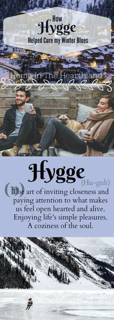 Do you get depressed in the winter? Read on for tips to help you stay cheery when the winter blues hit. http://www.homeinthehearthland.com/2017/11/14/hygge-helped-cure-winter-blues/?utm_content=buffer31ac7&utm_medium=social&utm_source=pinterest.com&utm_campaign=buffer #hygge #winter #depression #cure #happy #cozy