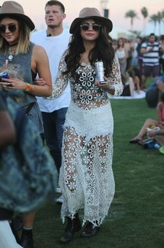 This classic Coachella look. | 22 Times Selena Gomez Totally Killed It In 2014