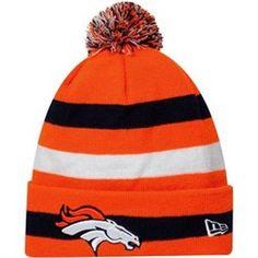 c29f24e9e Denver Broncos NFL Sport Knit Pom New Era Beanie (Orange) New Era Beanie