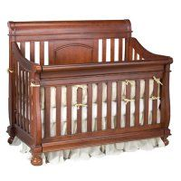 Creations Baby Summers Evening Sleigh Crib Collection in Twilight