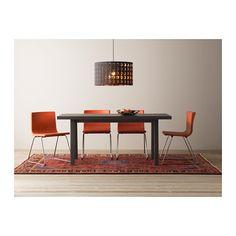 BERNHARD Chair, chrome plated, Mjuk orange