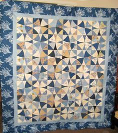Cool winding ways quilt!