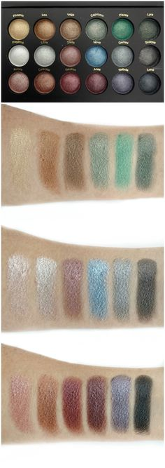 bh Cosmetics Supernova Palette Review & Swatches