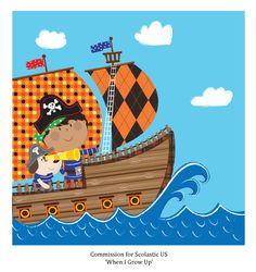 """Excited to see printed books for """"When I Grow Up"""" produced by Denise Ryan & Associates in Australia!"""