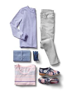 spring vision: stay neutral, but with hints of pastel.