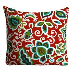 This item is unavailable Patio Pillows, Red Pillows, Couch Pillows, Pool Pillow, Chair Pillow, Pillow Inserts, Pillow Covers, Cheap Dining Room Chairs, Restoration Hardware Chair