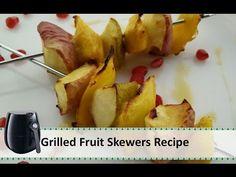 Air fried Homemade Potato Chips Recipe | Airfryer Recipes by Healthy Kadai - YouTube
