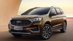 New 2021 Ford Edge Plus is a revolution, with the new 21 inch screen New Ford Edge, Diesel Engine, Revolution, Old Things, Product Launch, Board, Planks