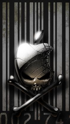 Apple iPhone Skull Wallpaper - Bing images
