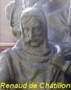 Entre outubro de 1176 e junho de 1177, Renaud de Châtillon doou terras ao conde Rodrigo Álvarez, fundador da Ordem Militar de Monte Gaudio. Essa doação, confirmada por Balduíno IV de Jerusalém, foi feita com a condição de que Rodrigo e seus seguidores lutassem contra os infiéis.