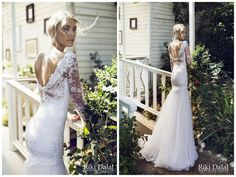 // Strikingly Seductive Elegance: Riki Dalal Wedding Dress Collection //