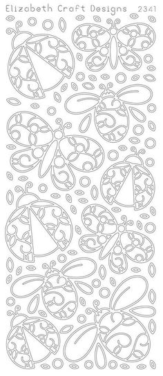 Elizabeth Craft Designs PeelOff Sticker 2341B Lady by PNWCrafts, $2.10: