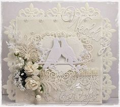 0395-Cutting & Embossing Just Married Wedding Text Die