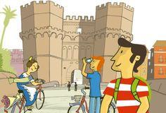 Nueva guía turística para recorrer la ciudad en bicicleta - http://www.absolutvalencia.com/nueva-guia-turistica-para-recorrer-la-ciudad-en-bicicleta/