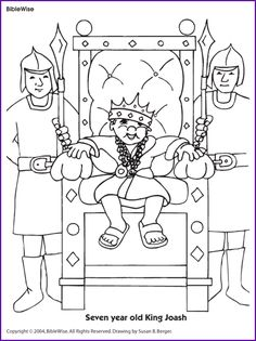 1000 images about divided kingdom on pinterest king for King jehoshaphat coloring page