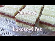 Czech Desserts, Vanilla Cake, Food Videos, Nutella, Cheesecake, Food And Drink, Punk, Baking, Drinks