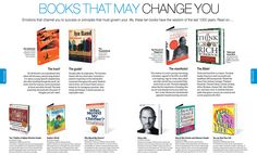 Books that may change you..
