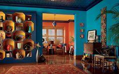 Behr Empress Teal (Paint Color) loves mg room