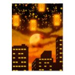 Orange City Nights Postcard #halloween #happyhalloween #halloweenparty #halloweenmakeup #halloweencostume