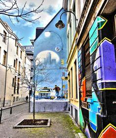 Rue Philippe de Champagne, Brussels Belgium