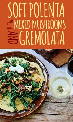 forest mushrooms recipes dishmaps soft polenta with forest mushrooms ...