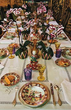 from Alberto Pinto's Table Settings