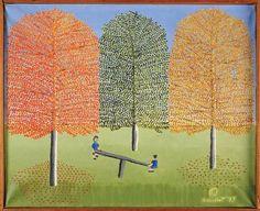 Theora Hamblett painting