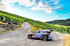 The new adventure started from the vast vineyards!- -드넓은 포도밭에서 시작된 또 다른 여정!- #onthethirdday #vineyards #keepgoing #race #carwithoutlimits #i20WRC #Germany #Rally #motorsport #WRC #Hyundai