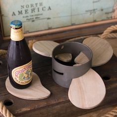 Coasters | Propeller Table Coasters | Unique Coasters | Airplane Propeller Decor | Aviation Gifts