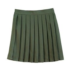 Girls School Uniforms Solid Pleated Mini Skirt - http://www.darrenblogs.com/2016/11/girls-school-uniforms-solid-pleated-mini-skirt/
