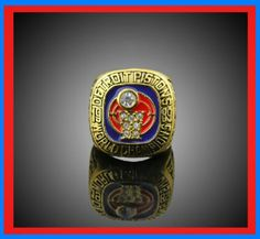 1989 Detroit Pistons NBA Finals Champions Ring Joe Dumas and the Bad Boys  record is on one side of the ring with the infamous