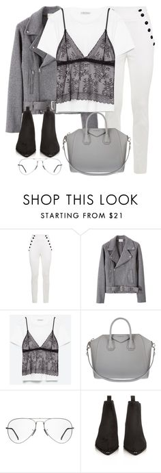 """""""Untitled #2996"""" by elenaday on Polyvore featuring Tommy Hilfiger, MATRIOCHKA, Givenchy, Ray-Ban and Acne Studios"""