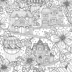 Adult Coloring Book for Travelers