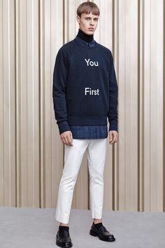 Acne Studios Fall 2014 Menswear Collection Slideshow on Style.com Fashion  Wear, Men Fashion 6f390f92935